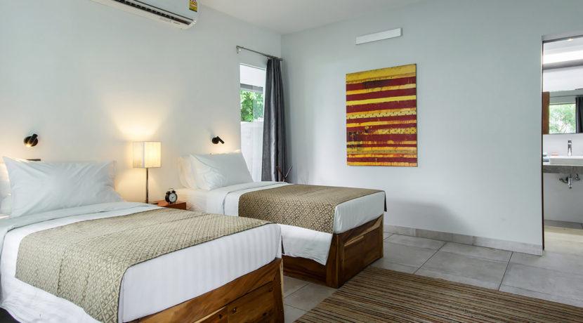 Baan Dalah Villa - Bedroom three layout