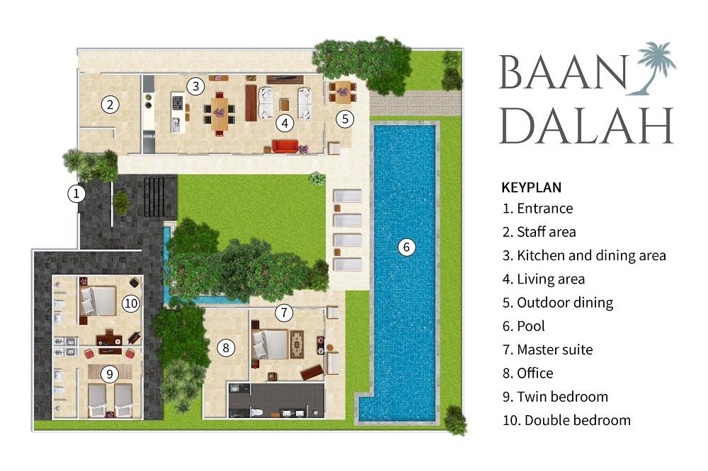 Baan Dalah Villa