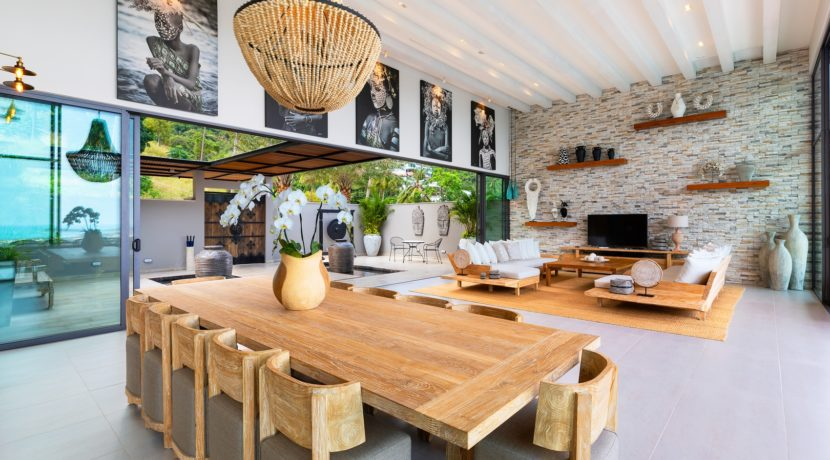 Villa Asi - Living and Dining Area