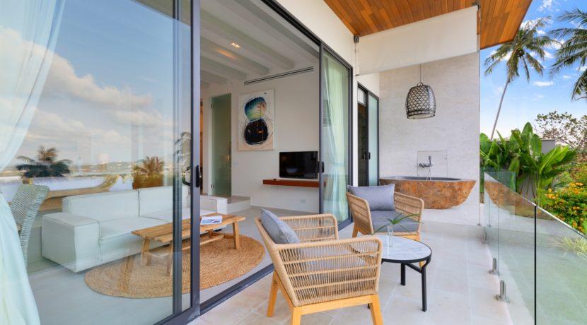 Villa Asi - Bedroom Terrace