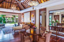 The Laguna Villa Pool Cabana - Living and Dining