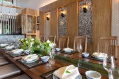 Angthong Villa - Main dining area