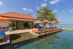 Angthong Villa - Poolside Sun beds