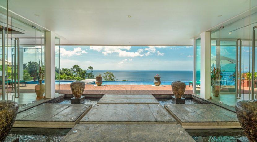 Villa Solaris - View from entrance