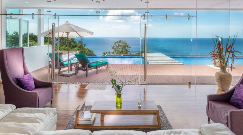 Villa Solaris - View from lounge room