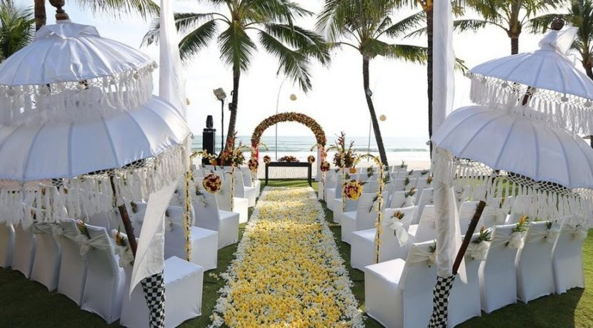 Pavilion Seminyak - The Wedding Set Up