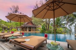 Villa Chada - Poolside relaxation