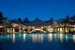 Sudamala Suranadi Villas - Pool at Night