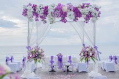 Sudamala Suranadi Villas - Wedding Ceremony Set up by the beach