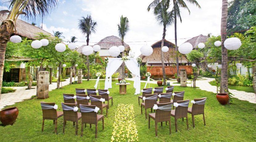 Sudamala Suranadi Villas - Wedding by the Garden