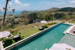 Villa Samsara - Infinity pool peview