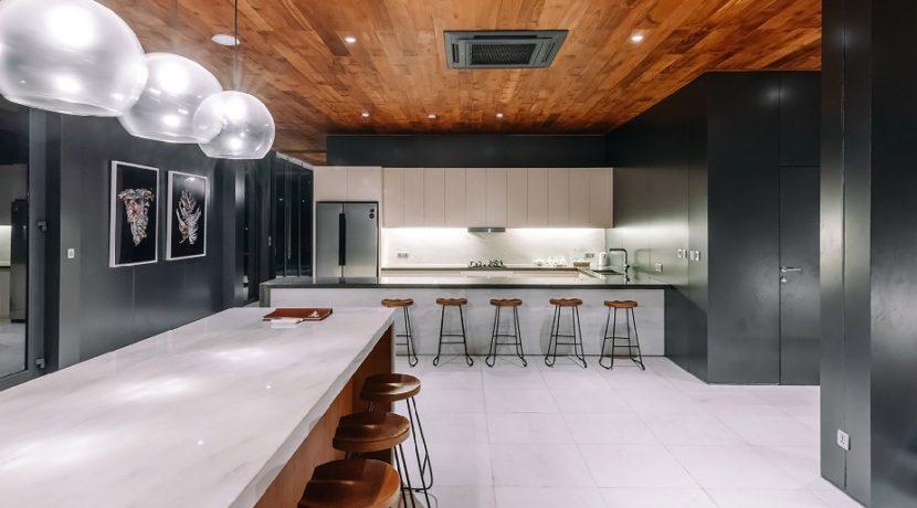 Villa Samsara - Contemporary kitchen design
