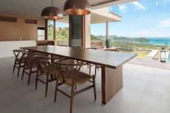 Villa Maleo - Dining Area with Fabulous View