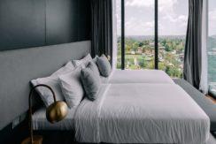 Villa Samsara - Guest bedroom with exquisite view