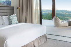 Villa Sandbar - Guest bedroom with spectacular view