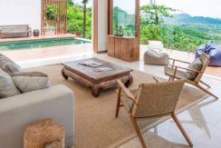 Villa Sandbar - Open plan living area