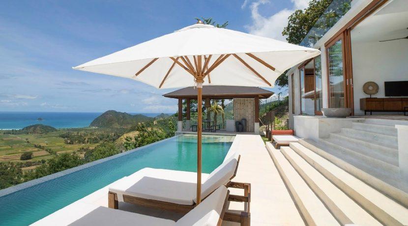 Villa Sandbar - Poolside relaxtion